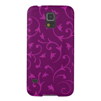 Baroque Design Plums Case For Galaxy S5