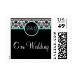 Baroque Elegance Our Wedding Small Postage