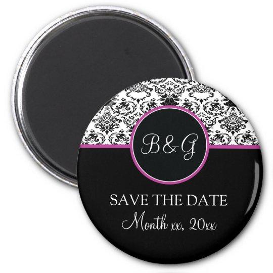 Baroque Elegance Save The Date Magnet