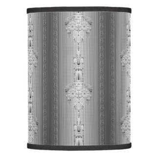 Baroque floral pattern with border lamp shade