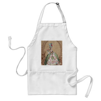 baroque french country burlap Marie Antoinette Adult Apron