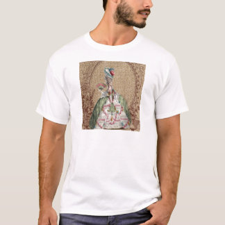 baroque french country burlap Marie Antoinette T-Shirt