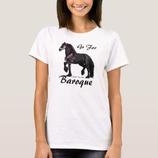 Baroque Friesian Shirts, Customizable T-Shirt