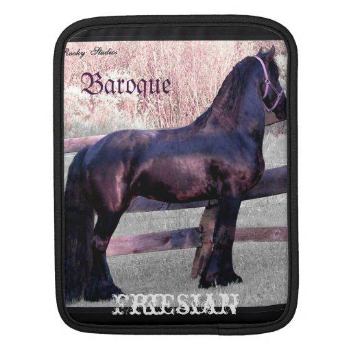 Baroque Friesian Sleeve For iPads