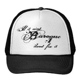 Baroque Hat