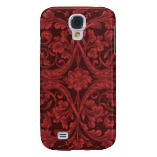 Baroque in Red Samsung Galaxy S4 Cover