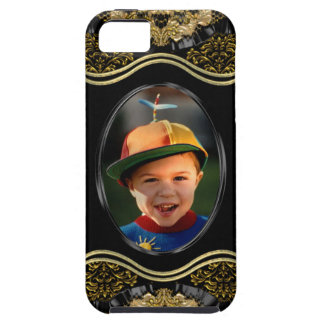 Baroque Insert your own Photo iPhone SE/5/5s Case