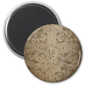 Baroque 2 Inch Round Magnet