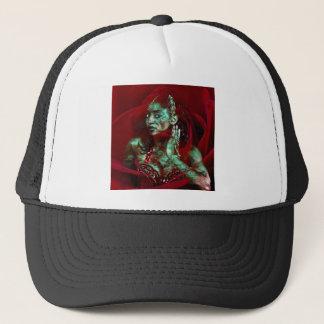 Baroque meets Oriental rose Trucker Hat