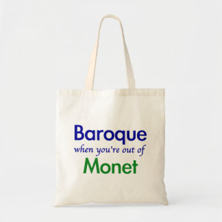 Baroque - Monet Canvas Bag