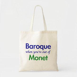 Baroque - Monet Tote Bag