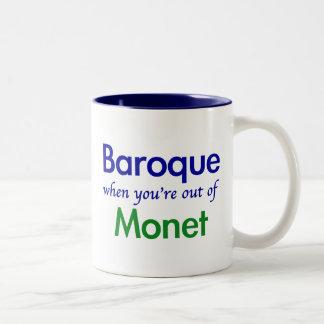 Baroque - Monet Two-Tone Coffee Mug