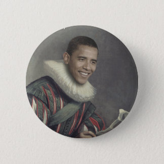 Baroque Obama Button