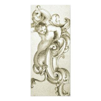 Baroque ornament card