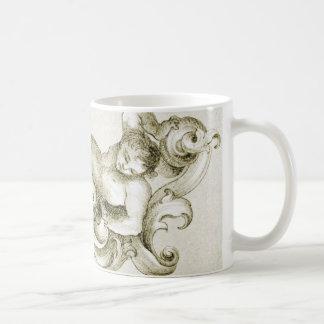 Baroque ornament coffee mug