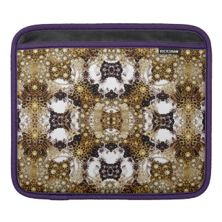 Baroque Ornament Pattern Print iPad Sleeve