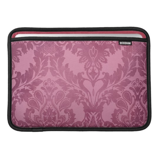 Baroque pattern MacBook sleeve