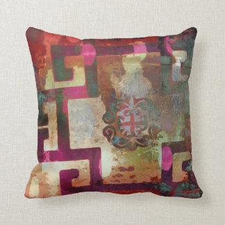 Baroque pattern pillow