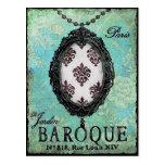 Baroque Pendant ~ Postcard