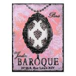 Baroque Pendant ~ Postcard / Invitation