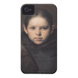 Baroque portrait iPhone 4 cases
