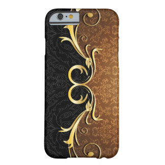 Baroque Scrolls and Damask Barely There iPhone 6 Case