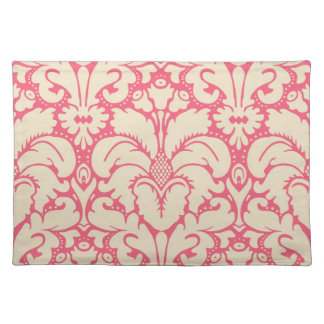 Baroque style damask background 2 cloth placemat