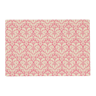 Baroque style damask background 2 placemat