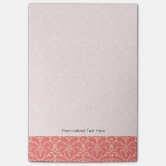 Baroque style damask background post-it® notes
