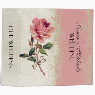 Baroque Style Vintage Rose Lace Binder