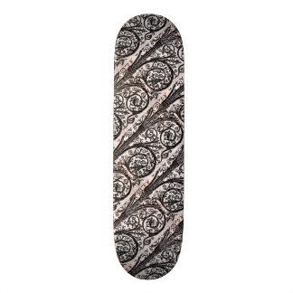 Baroque Vintage Architectural Decorative Ironwork Skateboard Deck