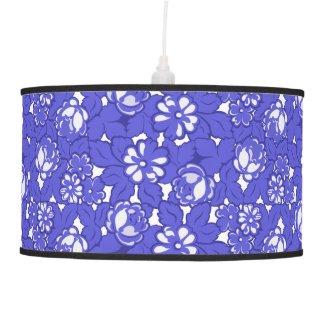 Baroque Wallpaper Ceiling Lamp