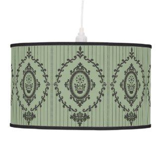 Baroque Wallpaper... Ceiling Lamp