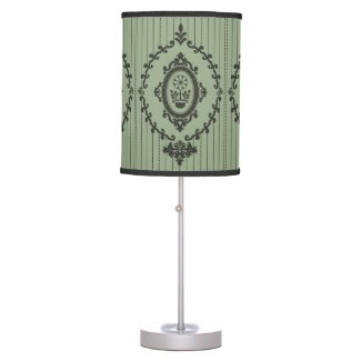Baroque Wallpaper... Table Lamp