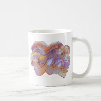 Baros rusty purple shell coffee mug