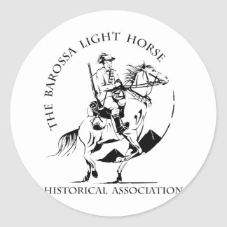 Barossa Light Horse Merchandise Classic Round Sticker