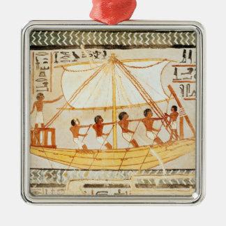 Barqueros en el Nilo, de la tumba de Sennefe Adorno Para Reyes