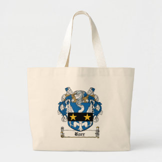 Barr Family Crest Tote Bag