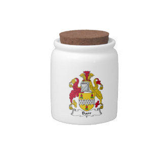 Barr Family Crest Candy Dish