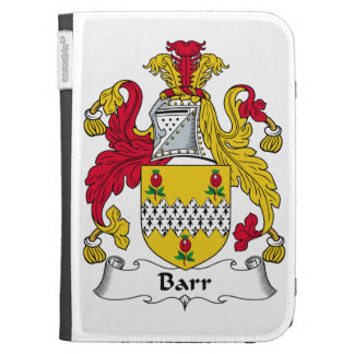 Barr Family Crest Kindle Keyboard Cases