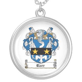 Barr Family Crest Custom Necklace