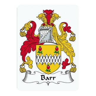Barr Family Crest Announcements