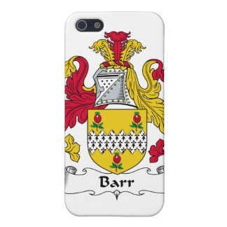 Barr Family Crest Cases For iPhone 5