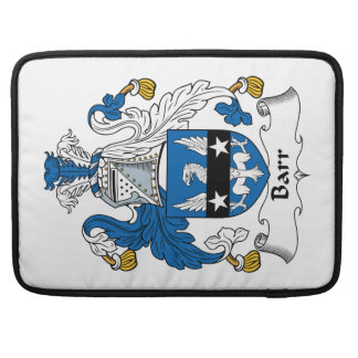 Barr Family Crest Sleeve For MacBook Pro