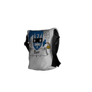 Barr Family Crest Messenger Bags