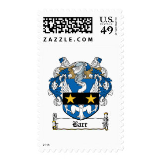 Barr Family Crest Stamps