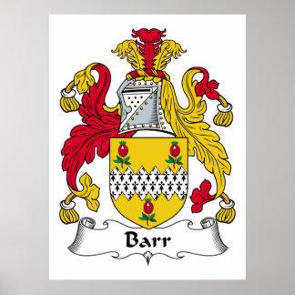 Barr Family Crest Print