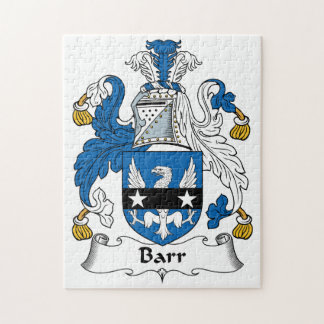 Barr Family Crest Jigsaw Puzzle