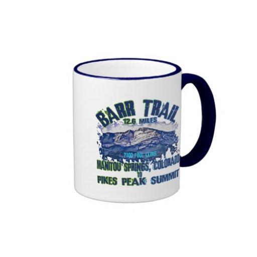 Barr Trail Ringer Coffee Mug