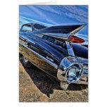 barra 1959 de la calle de Cadillac Tarjeta De Felicitación